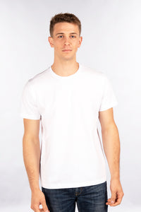 Fitted T-Shirt, Crew Neck