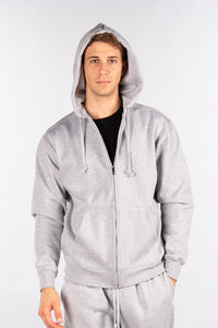 Fleece Zip-Up Hoodie