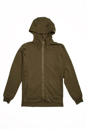 Full Zip Hoodie, Performance Fleece