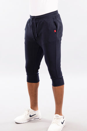 Jogger Shorts, 3/4 Length, Performance Fleece