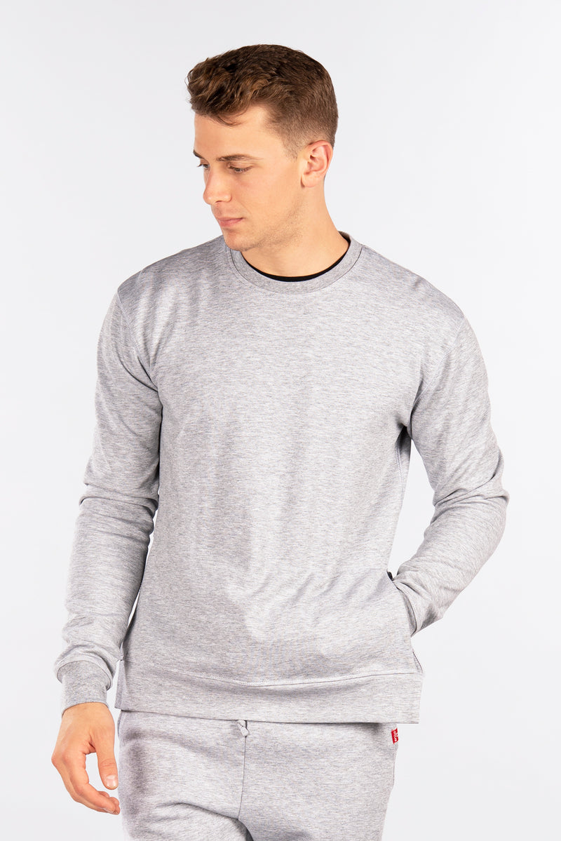 Side-Zip Fleece Crew, Performance Fleece