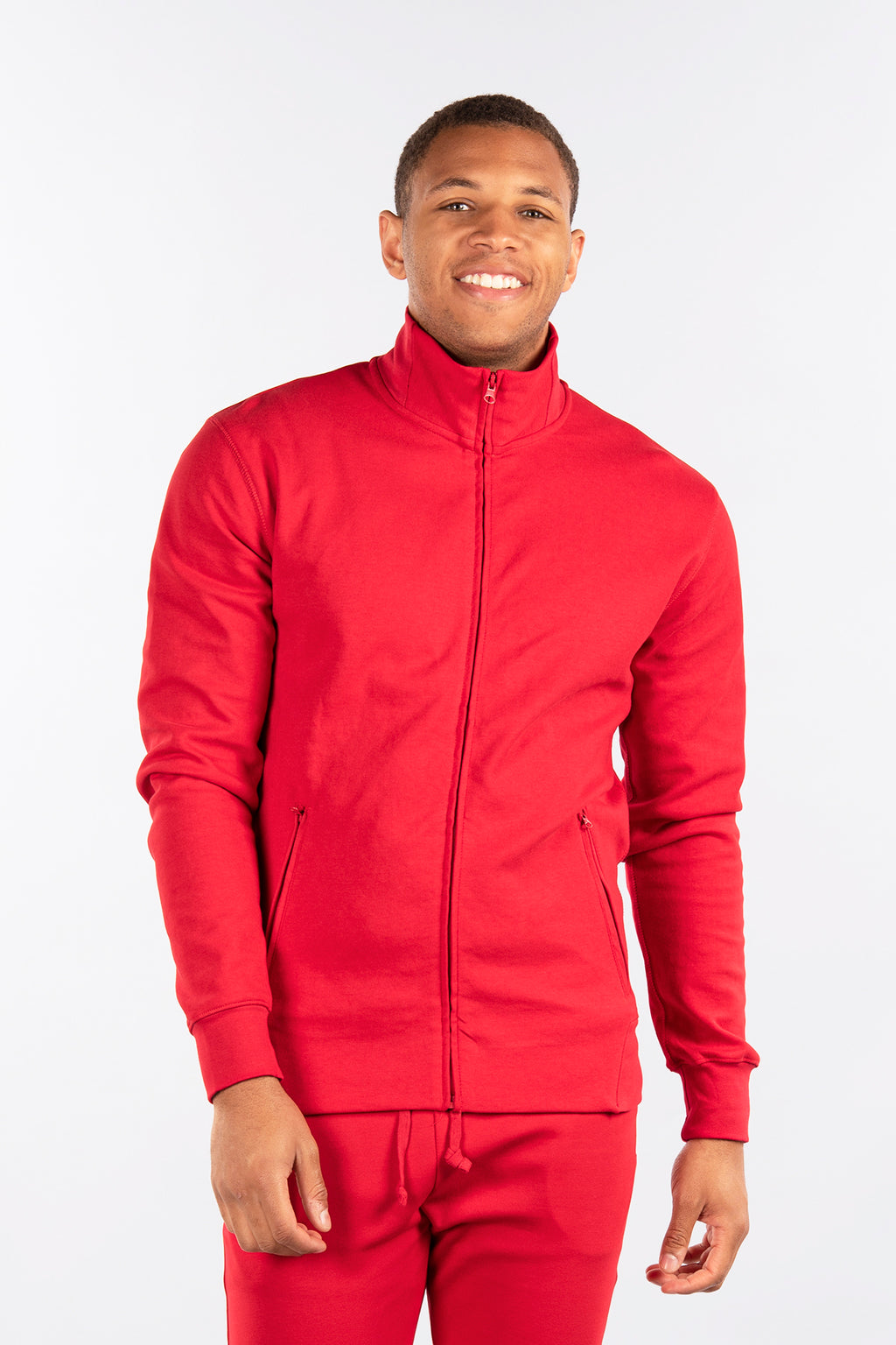 Track Jacket, Performance Fleece