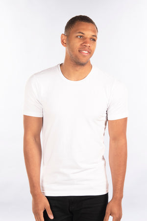 Stretch Slim Fit T-Shirt, Crew Neck