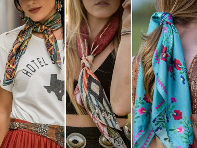 5 Ways to Style Your Scarves for Summer
