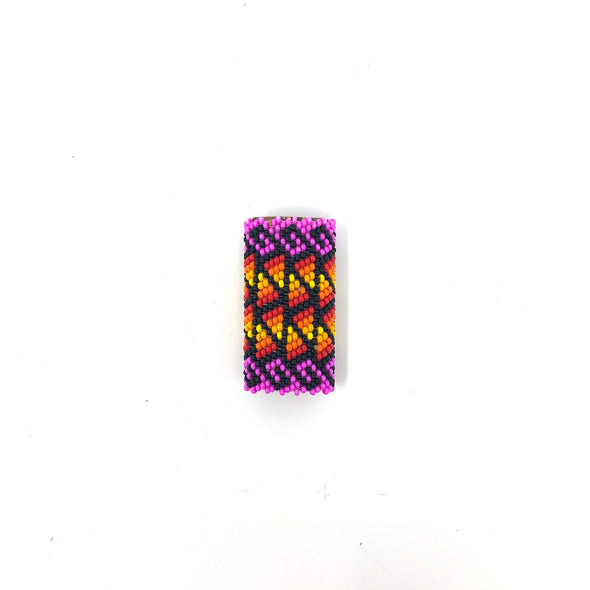 Slide - Beaded - Hot Pink/Red/Yellow