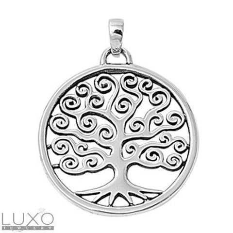 ▌Women's 925 Sterling Silver TREE OF LIFE Pendant »P112