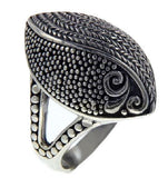 925 Sterling Silver Marquise Shape Ring»R11