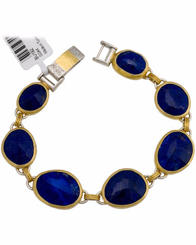 ▌Authentic GURHAN Silver w/24K Yellow Gold Organic Element Bracelet » $2,805