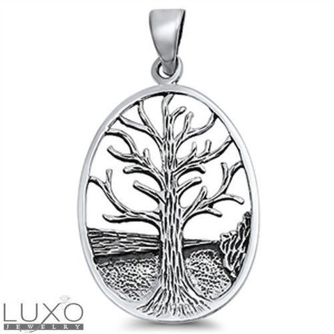 ▌Women's 925 Sterling Silver TREE OF LIFE Pendant »P18 VINTAGE DESIGN!!!