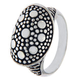 Designer 925 Sterling Silver Pebble Ring Size 7 »R19