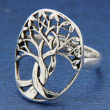 ▌Women's 925 Sterling Silver TREE OF LIFE Ring Size 4,5,6,7,8,9,10,11,12-14 »R61