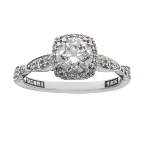 TACORI 18K Gold 1.01 CT I1 G Diamond Robbins Brothers Engagement Ring $9355