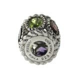 Judith Ripka 925 Sterling Silver Multi Color Bead Charm »U521