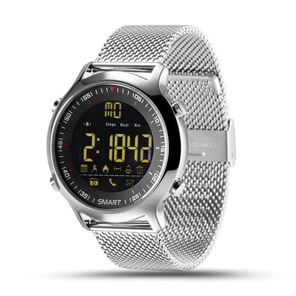 LEMFO EX18 Mens Waterproof Smartwatch With Pedometer