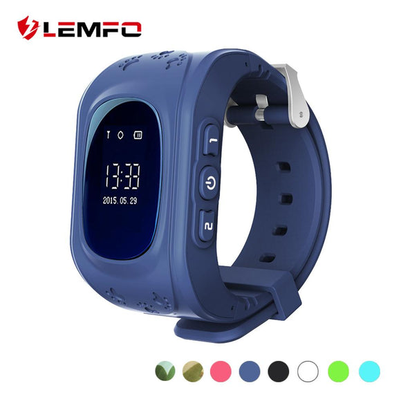LEMFO Q50 Kids Smartwatch with GPS Tracker