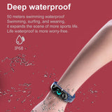 M3 Plus Smartwatch and IP68 Waterproof Sport Fitness Tracker
