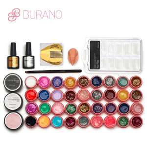 Burano Professional 36 Colour UV Gel Nail Polish