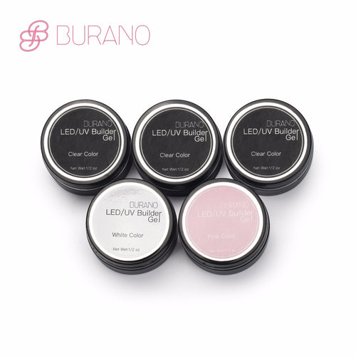 Burano 5 piece UV Gel Builder
