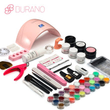Burano Acrylic Nail Kit With 24W UV/LED Nail Lamp