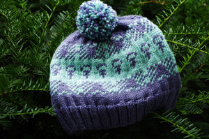 My Favorite F-Word Knitted Hat