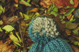 Color-block Slouch Hat