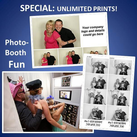 Unlimited Photo Booth - Fab Photo Booths