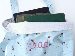 read book tote