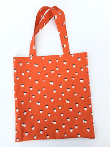 strawberry library tote