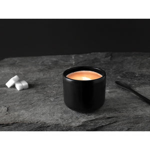 VVD COFFEE CUP STONEWARE BLACK