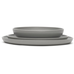 VVD tableware deep bowl warm grey
