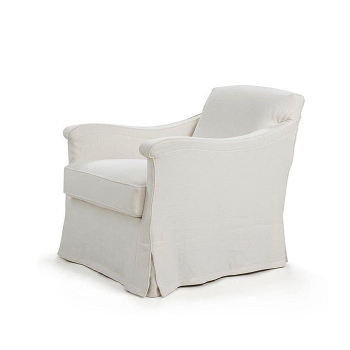 Linen Slipcover Chair