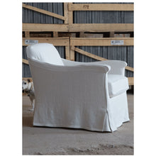 Load image into Gallery viewer, Linen Slipcover Chair