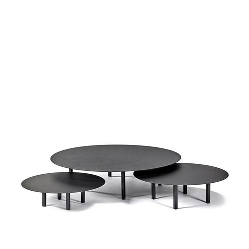 Black Low Steel Table