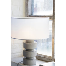 Load image into Gallery viewer, Concrete Disc Lamp