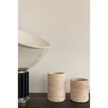 Load image into Gallery viewer, Large Travertine Vase