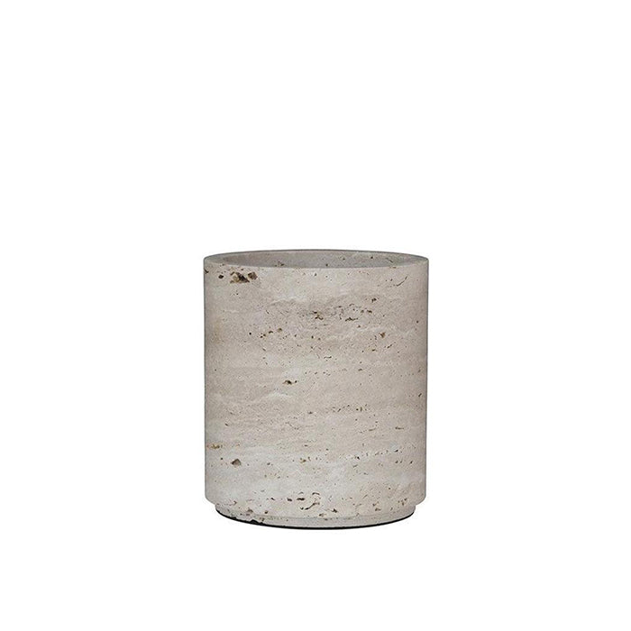 Small Travertine Vase