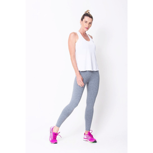 Heather Grey High Up Legging