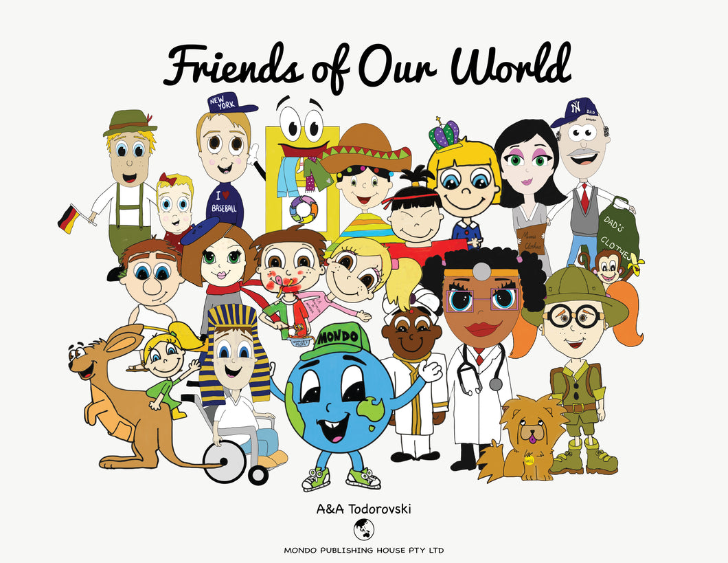 Friends of Our World Storybook