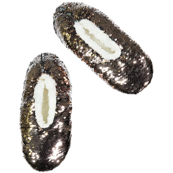Sequin Slipper Socks