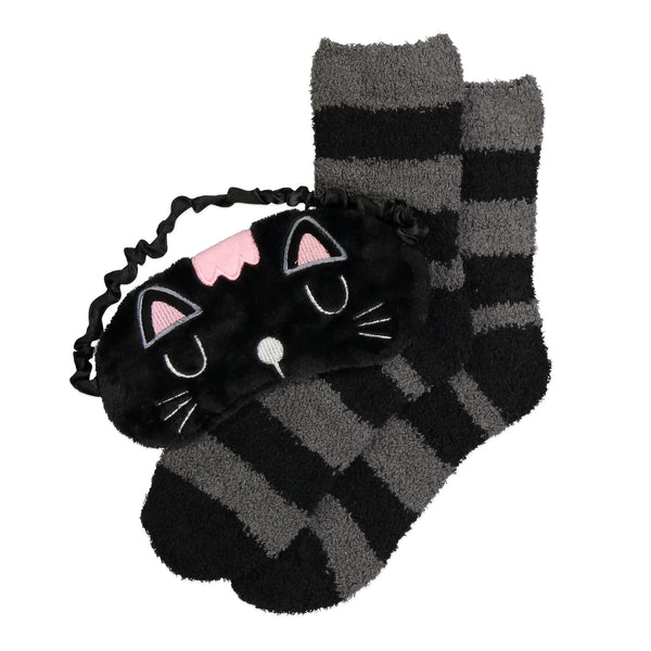 Women's Kitty Cozy Nap Set