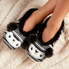 Cozy Knit Slipper Socks with Grippers