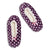 Women's Dots Quilted Slipper Sock