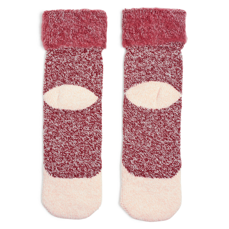 Women's Peach Fox Knit Sock