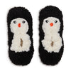 Women's Penguin Curly Yarn Soft Slipper - Fuzzy Babba
