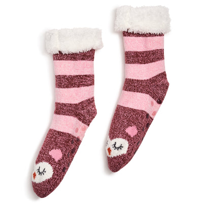 Women's Sleepy Kitty Cozy Warmer - Fuzzy Babba