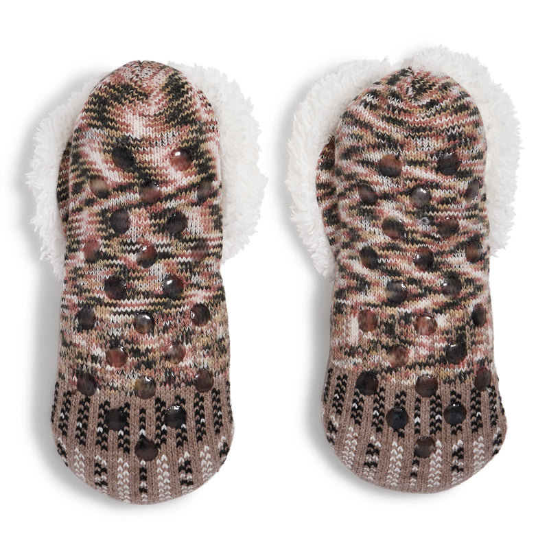 Women's Bunny Knit Slipper Sock