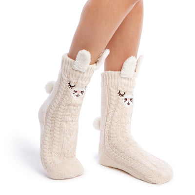 Women's Pop-up Ear Bunny Cozy Warmer - Fuzzy Babba