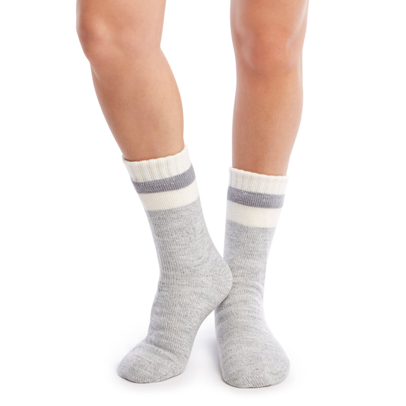 "Women's ""Sleepy Head"" Slipper Sock - Fuzzy Babba"