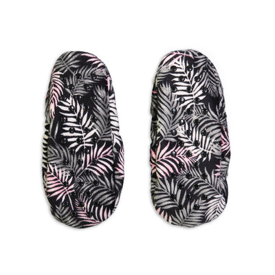 Women's Tropical Print Springtime Soft Slipper - Fuzzy Babba