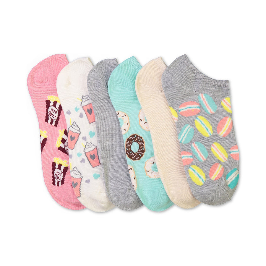 Women's 6-pack Sweet Treats No-Show Socks